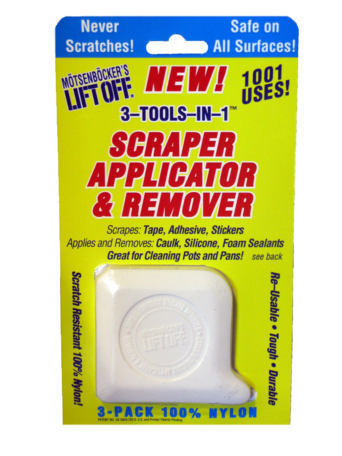 Motsenbocker's Lift Off 404-03 Super Scraper, Applicator and Remover