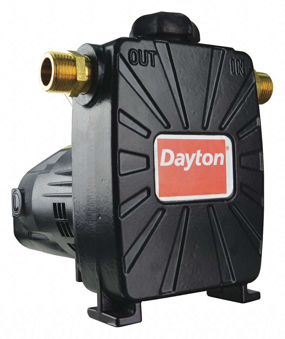 Dayton Utility Pump 1/2 HP 1 Ph 115V 8A ODP