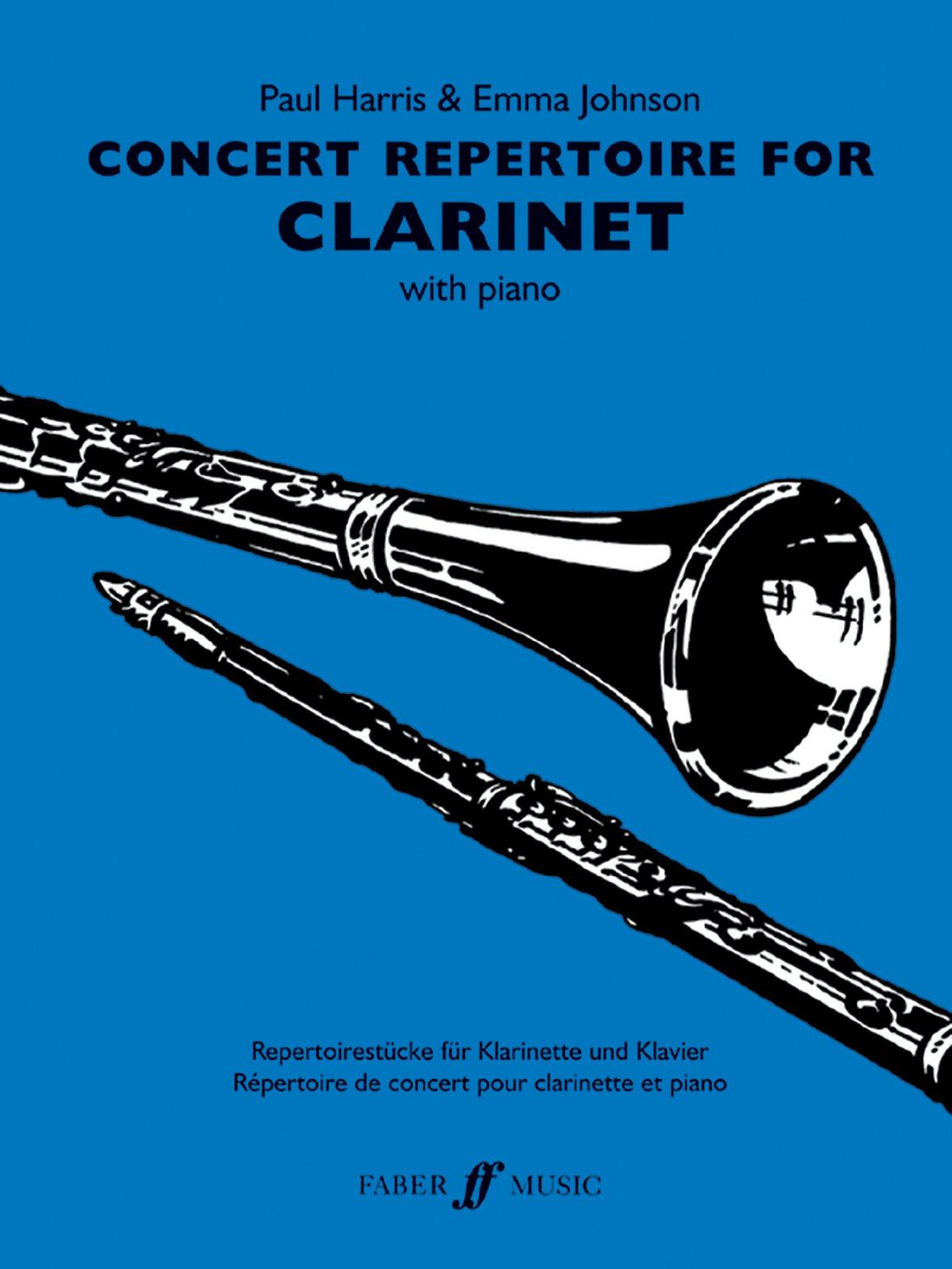 Concert Repertoire for Clarinet (Faber Edition: Concert Repertoire) pdf epub