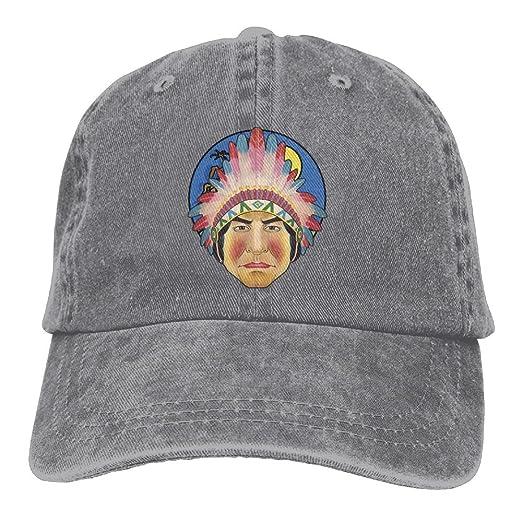 Amazon.com  Adjustable Baseball Caps Indian Tribe Prince Cowboy Style Trucker  Cap  Clothing 82541fe5ef8