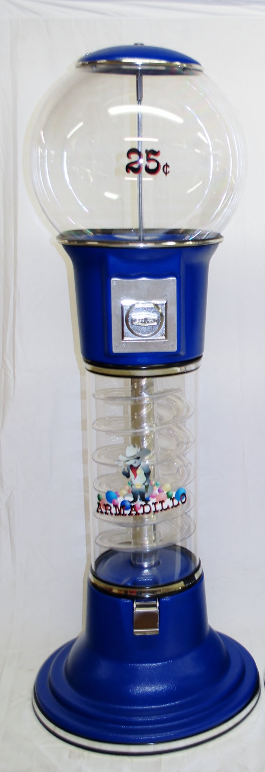 58'' Roadrunner Spiral Gumball Machine by Armadillo