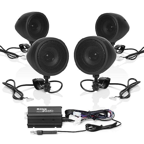 Amazon Boss Audio Mcbk470b Weatherproof Speakerlifier Sound Rhamazon: Boss Audio Bluetooth Sound System At Gmaili.net