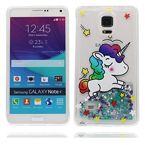 YuanYuZhongPhoneSky Samsung Galaxy Note 4 Carcasa, Natación ...