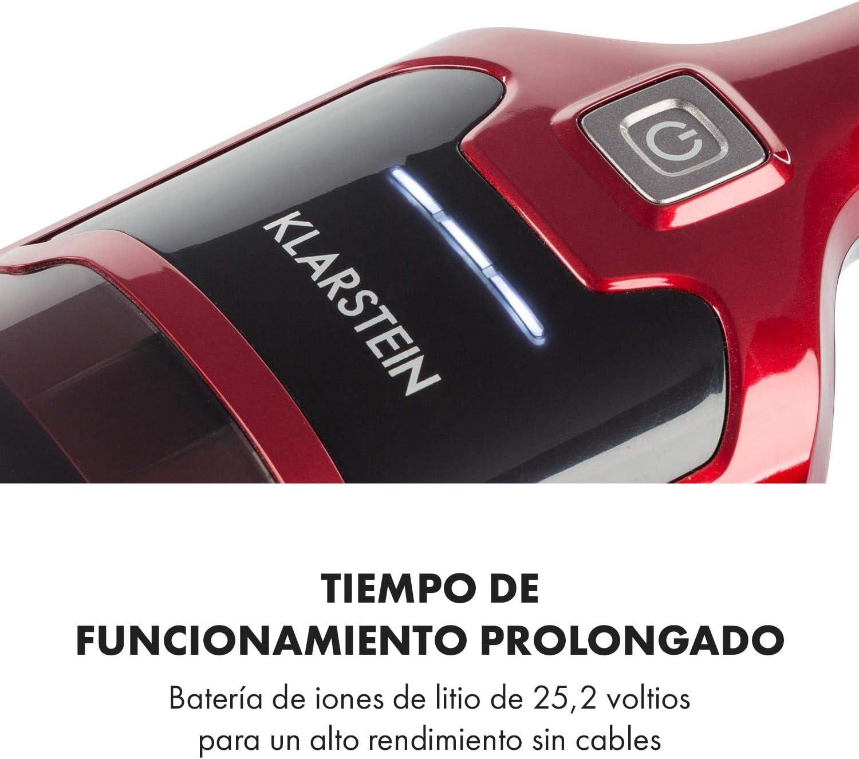 Klarstein TurboHybrid - Aspiradora por ciclón sin Bolsa, para ...
