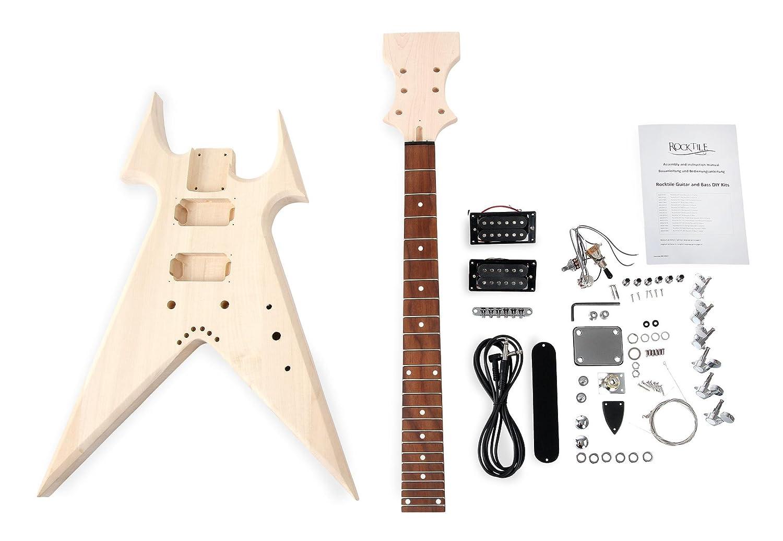Kit de guitarra eléctrica Rocktile ZW-Style: Amazon.es: Instrumentos musicales