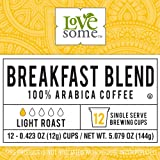 LoveSome Breakfast Blend K-Cup, 12 Count