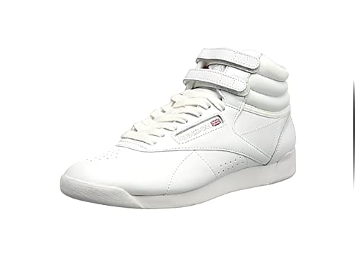 Reebok Freestyle Hi Women s Hi-Top Sneakers  Amazon.co.uk  Shoes   Bags 36410fa47