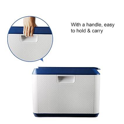 78L cajones plastico almacenaje,cajas plasticas con tapa de capacidad muy grande,cajas apilables plastico ABS,cajas plastico ordenacion multifuncional,cubos ...