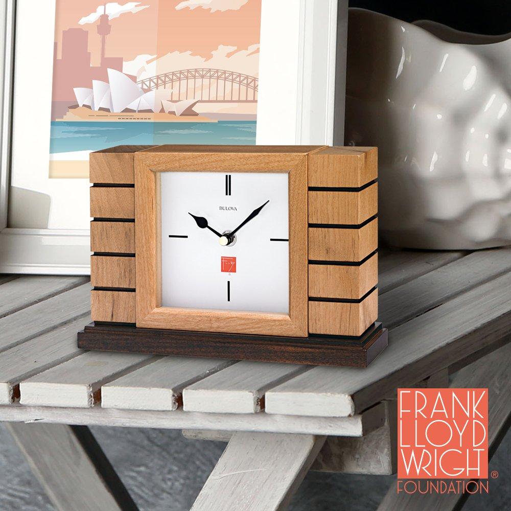 Bulova Usonian II Frank Lloyd Wright Clock by Bulova (Image #2)