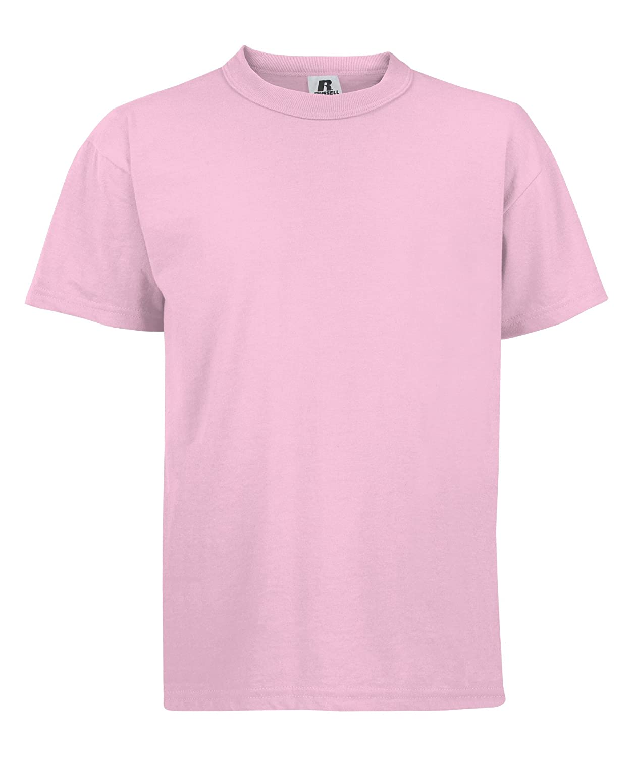 Pink Russell Youth Crossover TShirt x-small/