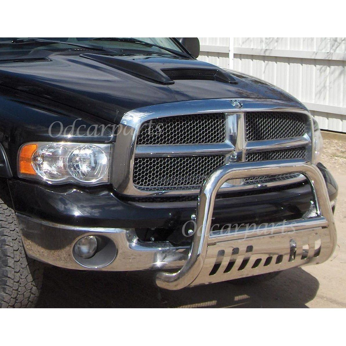 VioGi Fit 06-08 Dodge Ram 1500 Pickup 3 S//S Tube Bull Bar Brush Push Bumper Grille Grill Guard