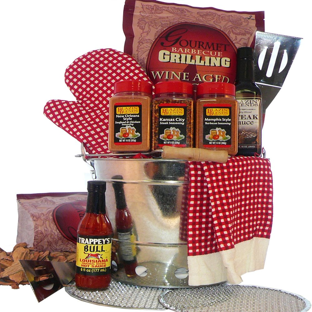 Billy Joes Grilling on the Go Barbeque Gift Basket: Amazon.com ...