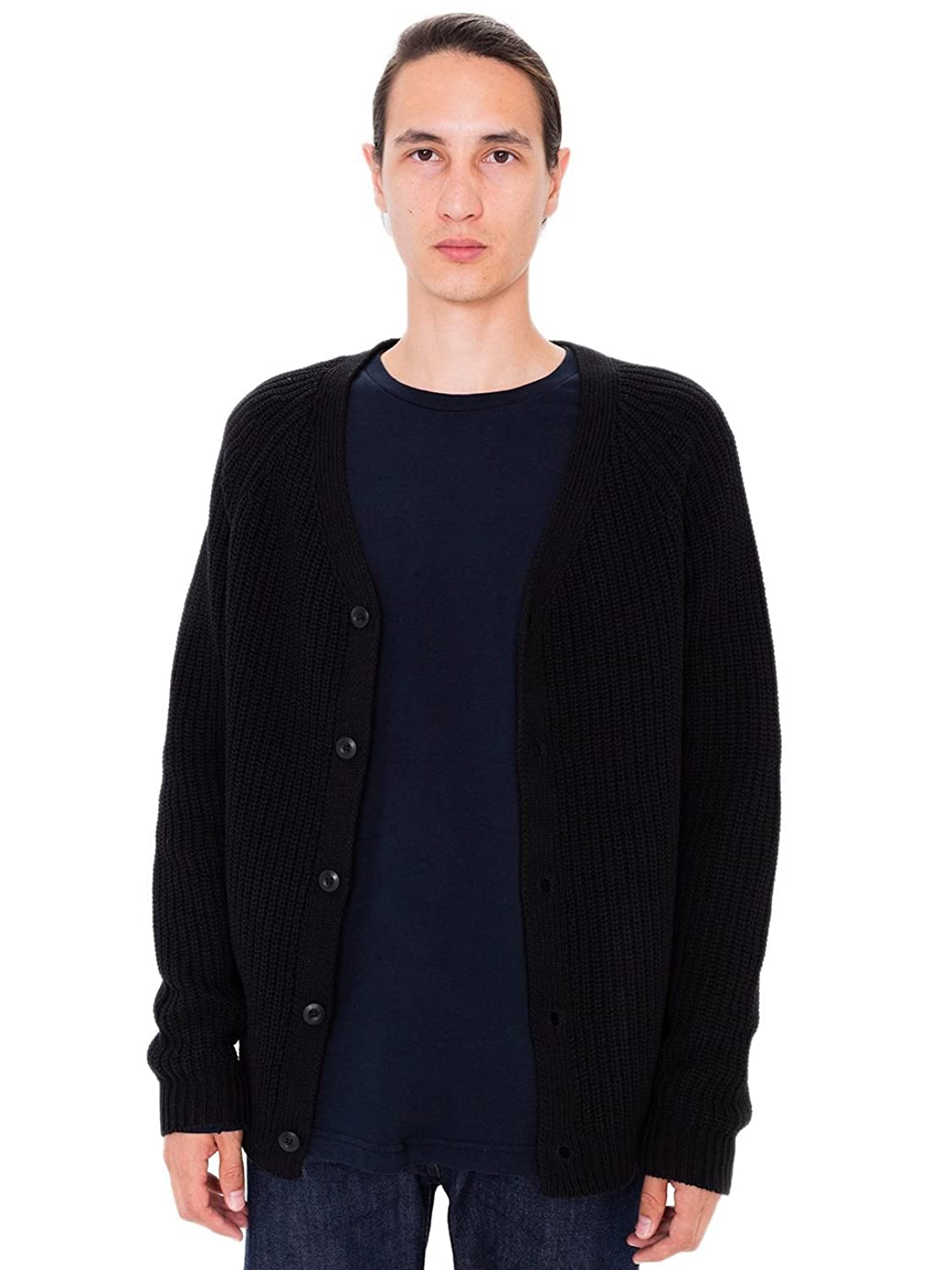 American Apparel Recycled Cotton Fisherman Cardigan