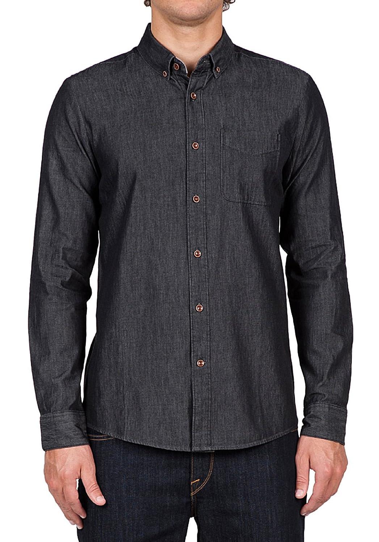 Herren Hemd lang Volcom Hudson Shirt LS