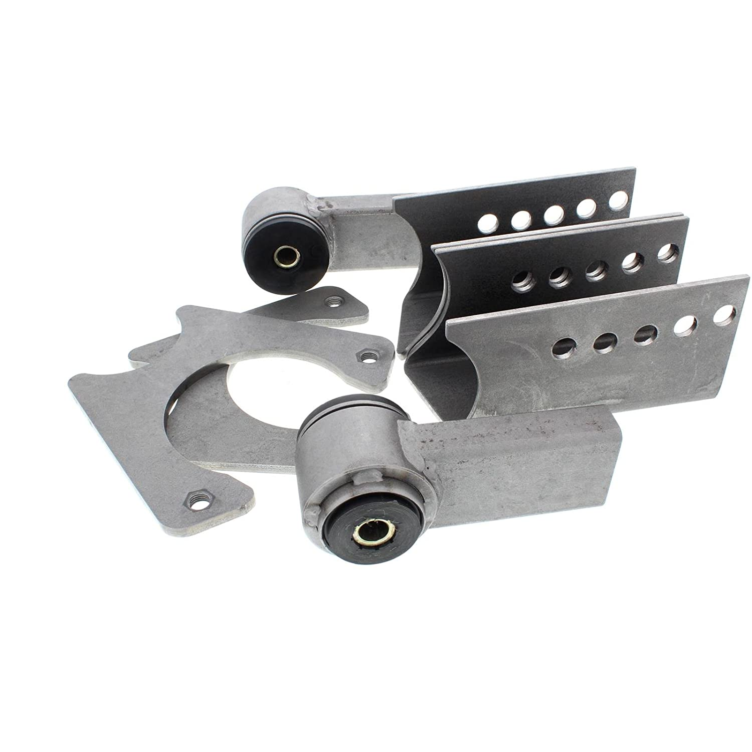 Deluxe 1978-88 Metric Chassis Axle Bracket Kit for 9 Inch Ford