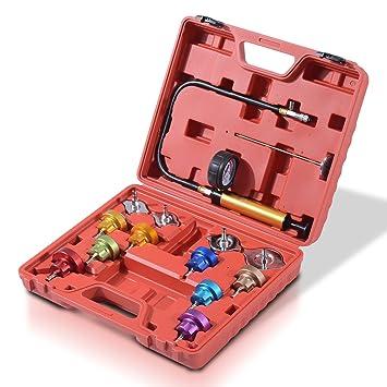 HOMCOM Kit Detector Fugas Radiador Agua Coche Fuga Radiadores Coches