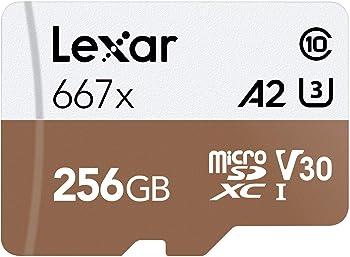 Lexar Professional 667x 256GB microSDXC Card