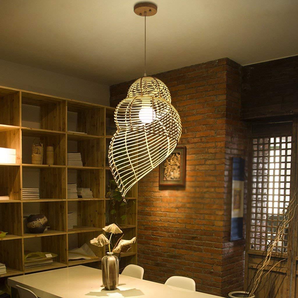 Kronleuchter Einfache und kreative Restaurant Lichter Bambus Stricknadeln Licht japanischen Lampen Lampen Rattan Kronleuchter Led