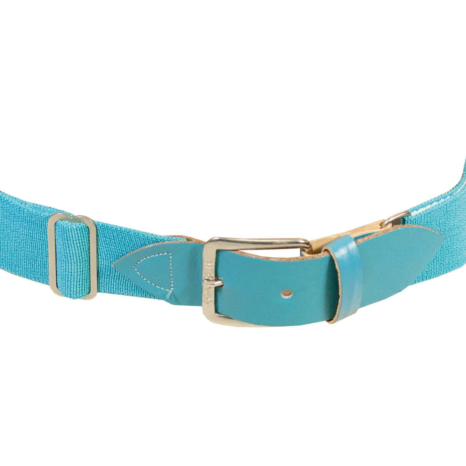 Adams Bucks 1.5 Adult Adjustable Elastic Baseball Belt Aqua