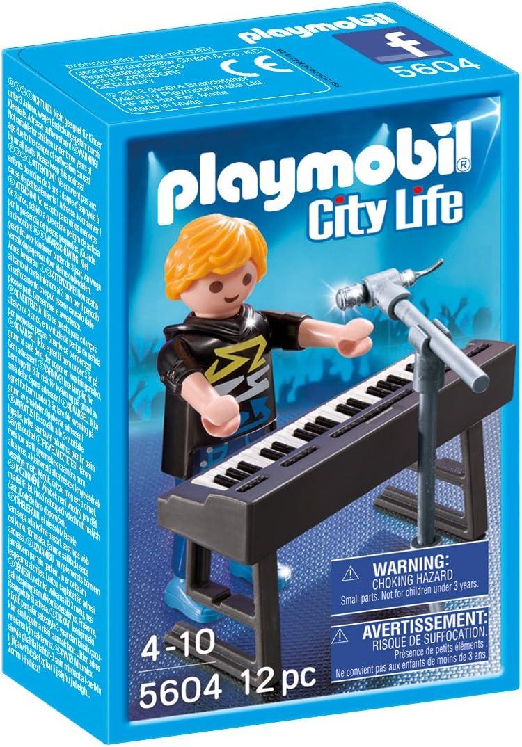 PLAYMOBIL - City Life Jugador del Synth Pop Stars Playsets de ...