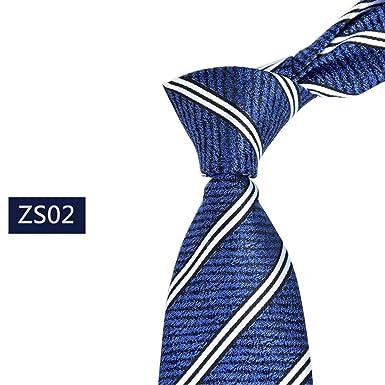 Corbata De Seda Para Hombre Corbata Moda De Simple Hombre Moderno ...