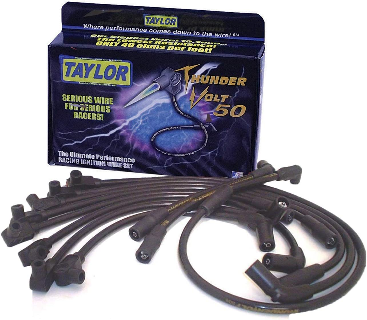 Taylor Cable 98033 ThunderVolt 50 Series Ignition Wire Set