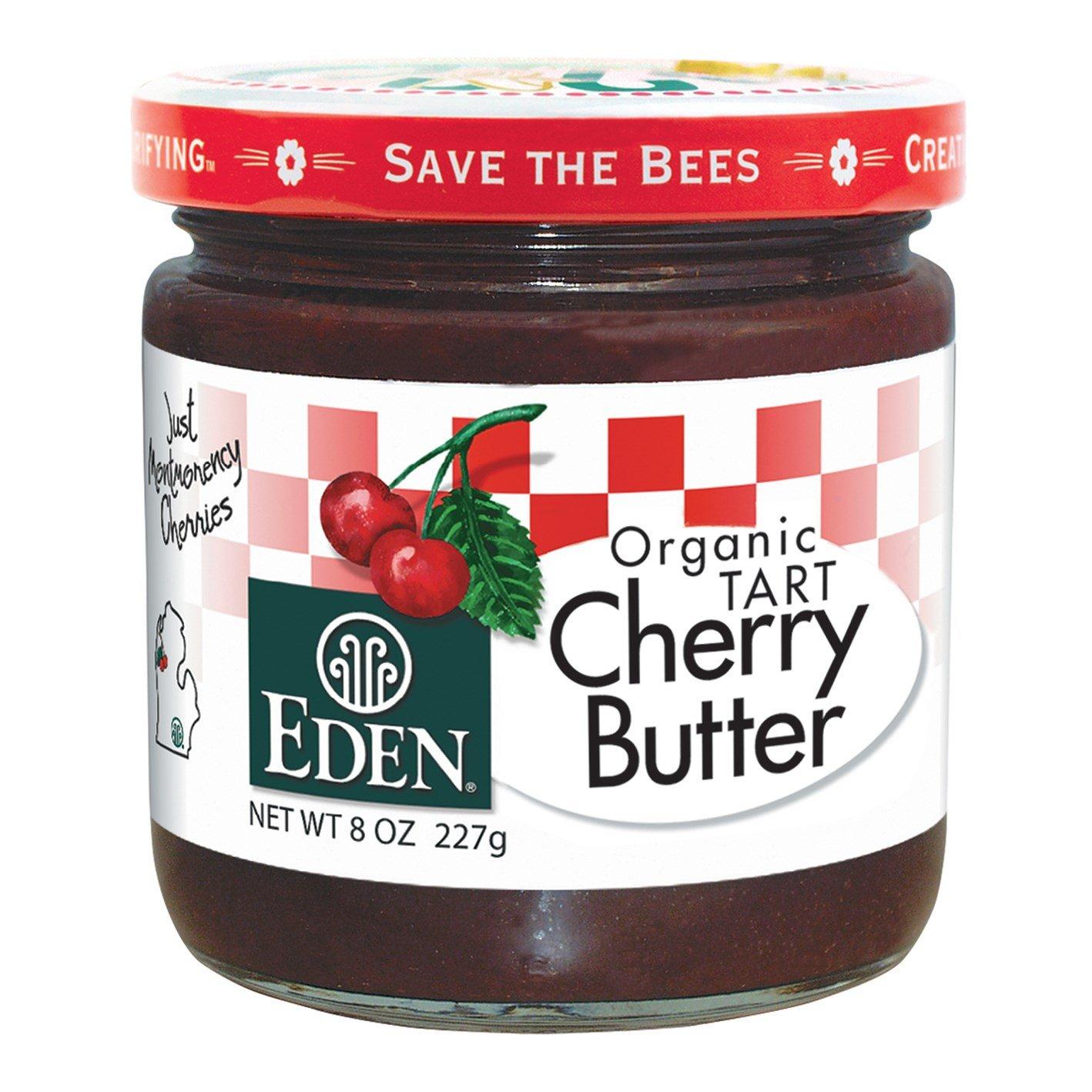 Eden Foods, Organic Tart Cherry Butter, 8 oz (227 g) (DOUBLE PACK)