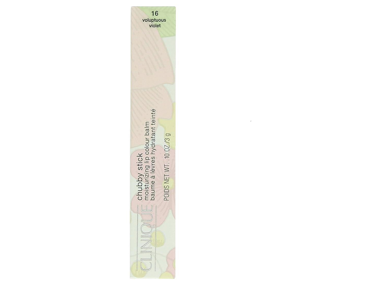 Clinique Chubby Stick Moisturizing Lip Colour Balm 16 Voluptuous Violet 0.04oz