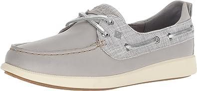 Sperry Top-Sider Oasis Dock Knit Boat Shoe Women 11 Black