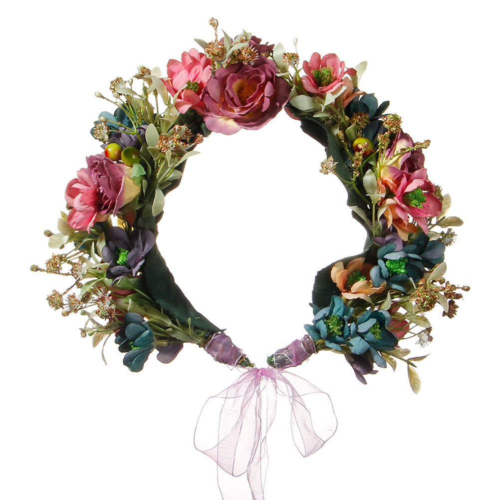 Amazon Valdler Vintage Nature Berries Flower Crown With