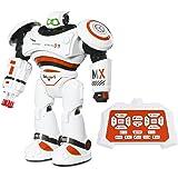 SGILE Ferngesteuerter Roboter mit Selbstausgleich und Motion Sensing Technologien Gleichgewicht LED Spielzeug für Kinder (Orange)