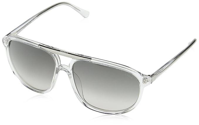 Lozza Sl4081M, gafas de sol para Hombre, Plateado (SHINY ...