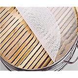 Homankit(ホーマンキット)蒸し器用 厨房・食品用シリカゲル製蒸し布・もちふきん ホワイト  25cm