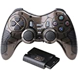 Protokart 6 in 1 2.4G Wireless Game Controller Gamepad Gaming Joystick with Vibration for PC Laptop Gaming Consoles, for PS1, PS2, PS3, PC360, Android, TV Box