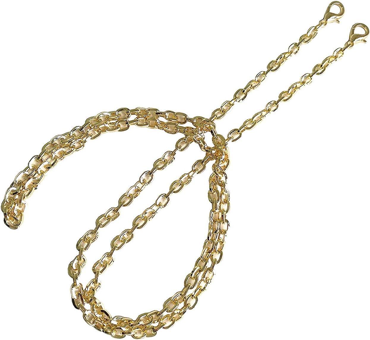 BG02 purse metal chain strap replacement gold crossbody shoulder strap handbag