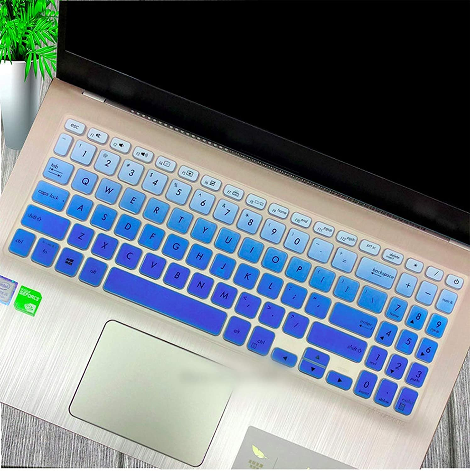 15.6 Inch Keyboard Cover Skin for Asus Vivobook 15 X512Fl X512Uf X512Ua X512Fa X512Da X512Ub F512 F512U F512Da X512 Y5000U-In Keyboard Covers from Computer /& Office,Candyblack