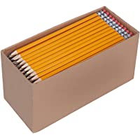 AmazonBasics Pre-sharpened Wood Cased #2 HB Pencils, 30 Pack