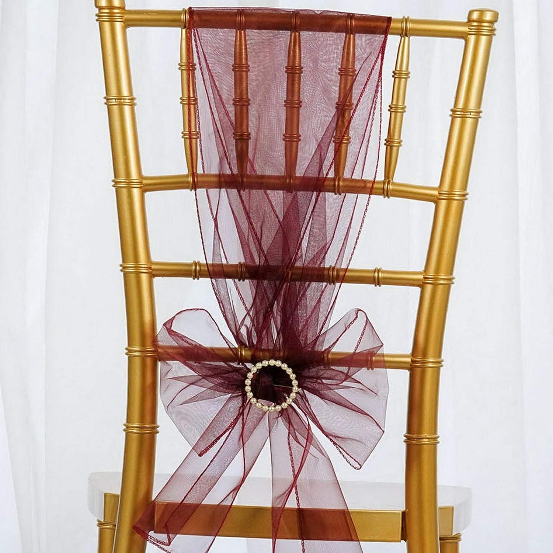 Mikash 200 シアーオーガンザ 椅子用サッシュ 蝶ネクタイ ウェディングデコレーション 卸売販売 モデルWDDNGDCRTN 買取 - 16439 長さ108インチ 幅7 18%OFF 8 x 1 B07RG6ZTWZ childweddingdecoration-17665 cl ホワイト 2インチ