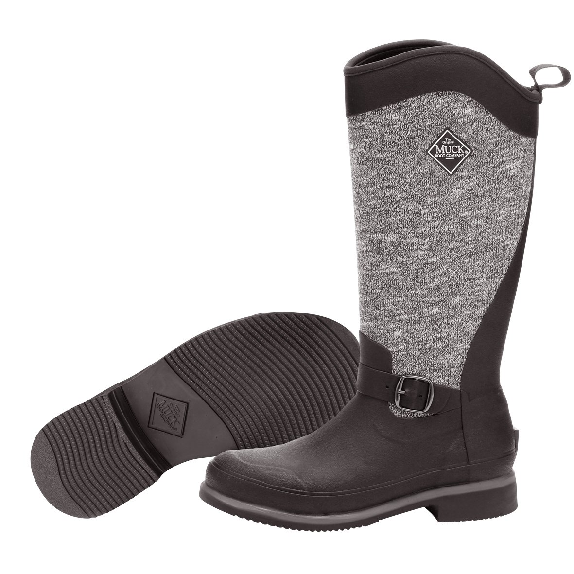 Muck Boot Women's Reign Supreme Snow B01J4JFTZ8 7 B(M) US|Black/Gray