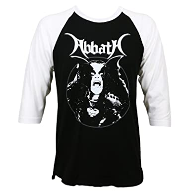 e51a16ae76 Abbath Men s Classic Raglan T-Shirt White