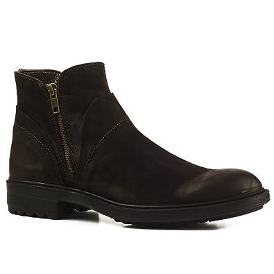 the latest 95f2c 82bd1 Buffalo Herren Stiefel 7259 Boots Stiefeletten Leder Zipper