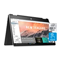 HP Pavilion x360 14-Inch 2-in-1 Convertible Laptop, Intel Core i5, 8 GB RAM, 512 GB SSD Storage, Intel UHD Graphics, Windows 10 Home, Amazon Alexa Voice Compatible (14-dh2011nr, Natural Silver)