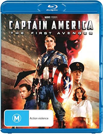Amazon Com Captain America The First Avenger 2011 Movie Import Australia Chris Evans Tommy Lee Jones Hugo Weaving Hayley Atwell Sebastian Stan Joe Johnston Movies Tv