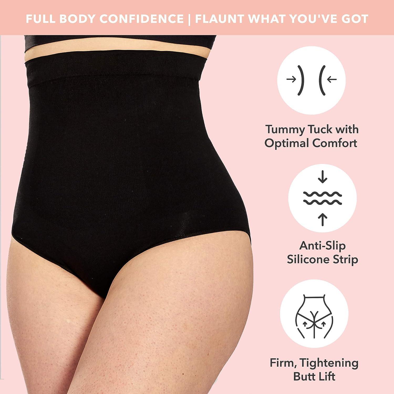L//XL Hi-Waisted Comfort Tummy Control Shaper Shorts O//S S//M