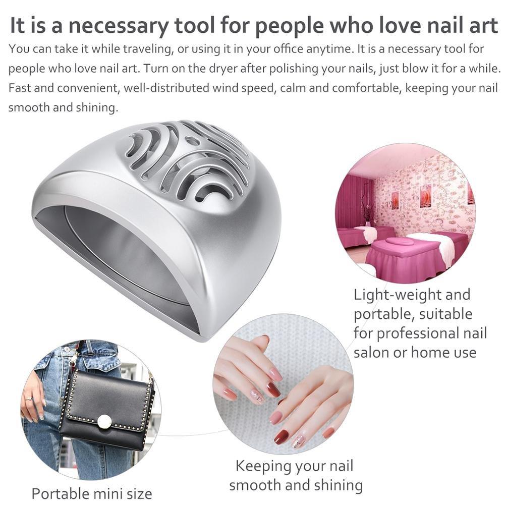 Modern Mini Nail Salon Dryer Ornament - Nail Polish Ideas ...