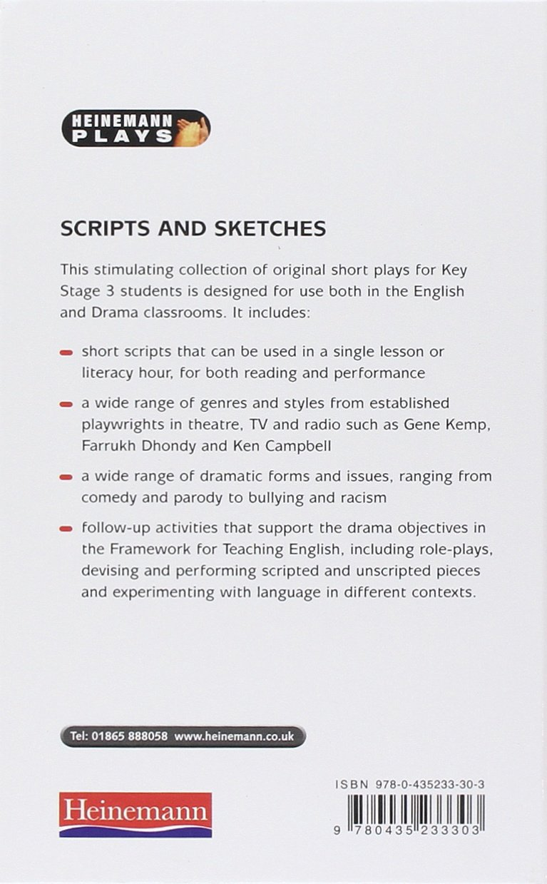 Scripts and Sketches (Heinemann Plays): John O'Connor: 9780435233303