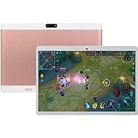 "RONSHIN V10 10.1"" 4G-LTE Android 8.0 Laptop IPS HD Screen 8+128GB Dual Card teléfono Celular Llamada PC Tablet, Rosado, US Plug"