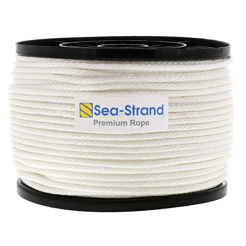 Sea-Strand 3/16'' x 500' Reel, Solid Braid Nylon Rope