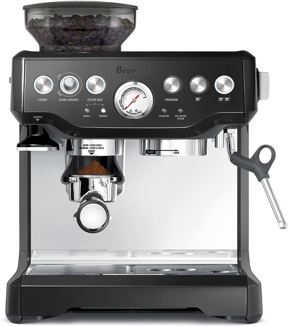 Breville BES870BSXL The Barista Express Coffee Machine, Black ...