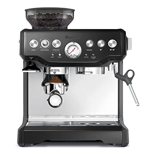 Breville BES870XL Barista Express Espresso Machine with Black Sesame Color